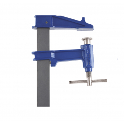 R CLAMP  Bar:40x10 mm Depth:15cm