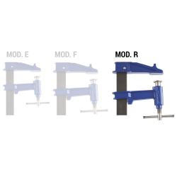 K CLAMP Bar.:40x10 mm Depth:30 cm