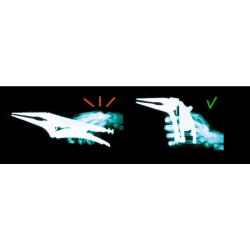 Umkehrbare Maxipress R Einhand-Hochleistungsschraubzwinge
