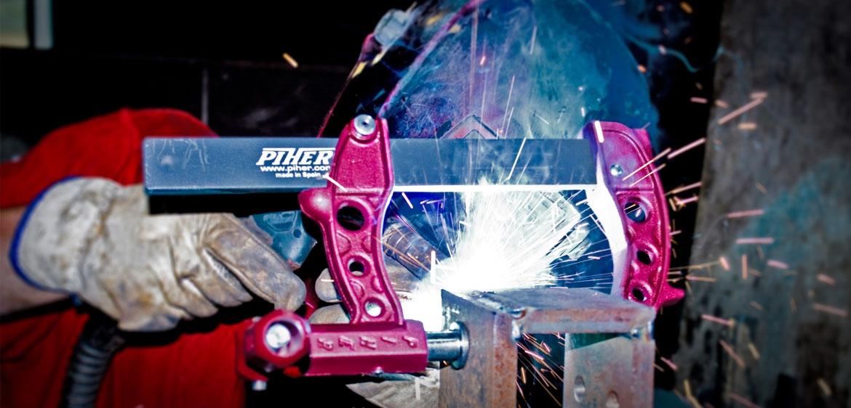 Aprietos PIHER Para Soldadura y Trabajos en Metal