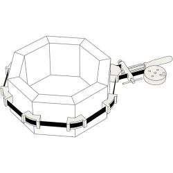 Presse d'angle pour métal