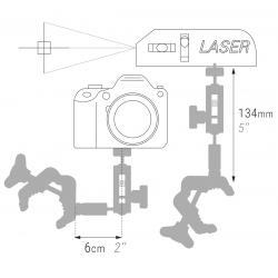 PIHER Maxipress F, Einhand-Hochleistungsschraubzwinge, Spannkraft 900 kg. Ausl. 12 cm