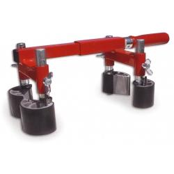 Gietijzeren klemmen 50K Bar:40x10 mm Spandiepte:50 cm