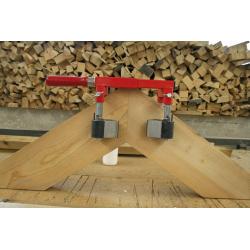 Gietijzeren klemmen 40K Bar:40x10 mm Spandiepte:40 cm