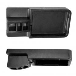 Gietijzeren klemmen MAXI R Bar:40x10 mm Spandiepte:16 cm
