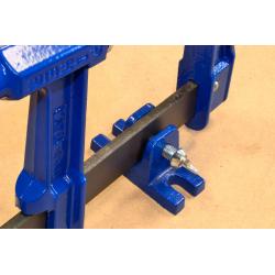 Deur- of raamklem H  Bar:40x10 mm Spandiepte:6 cm